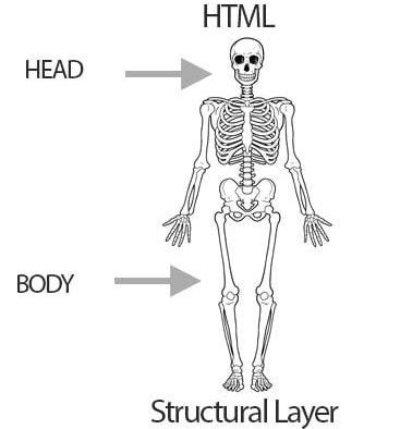 ساختار قالب های اچ تی ام ال