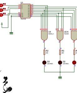 طراحی یک حافظه ROM با دیکدر